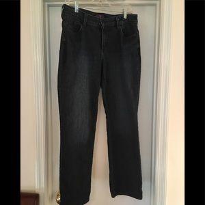NYDJ Straight Leg Jeans 10P